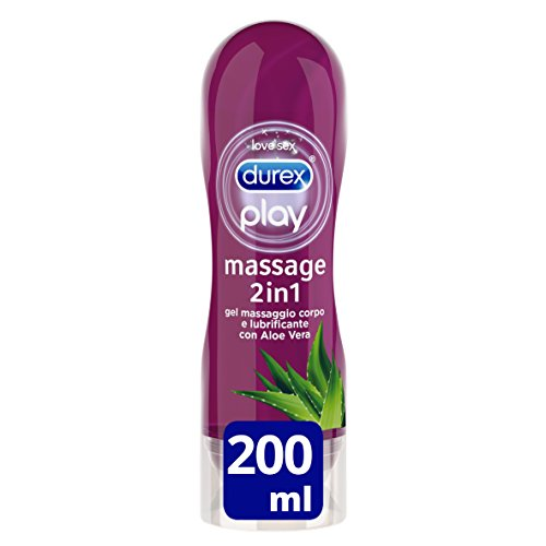 Durex Massage 2 In 1 Aloe Vera 200 Ml 1 Unidad 200