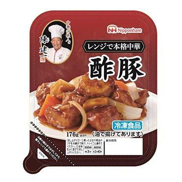 【冷凍】 日本ハム 陳建一 酢豚 176gX4パック