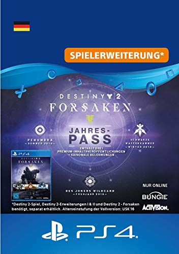 Destiny 2: Forsaken Jahrespass - Jahrespass Edition | PS4 Download Code - deutsches Konto
