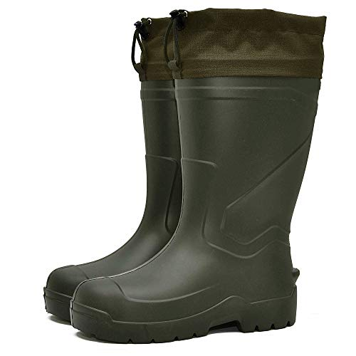 DD-Tackle Eva Thermostiefel -30°C + Filz Innenschuh Jagd Angel Angler Thermo Winter Stiefel Anglerstiefel Angelstiefel Jagdstiefel (44)