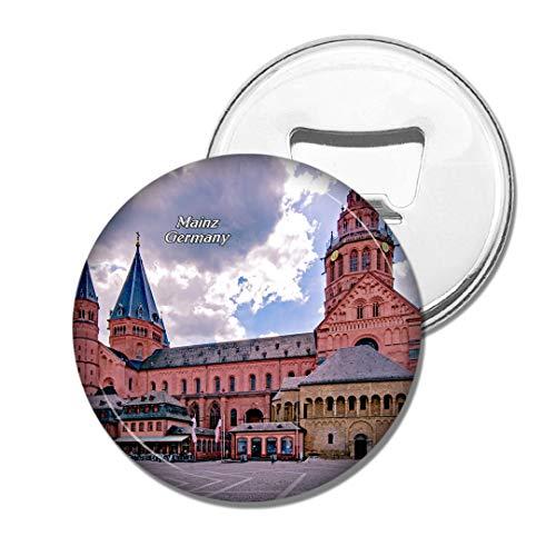 Weekino Deutschland Mainzer Dom Bier Flaschenöffner Kühlschrank Magnet Metall Souvenir Reise Gift