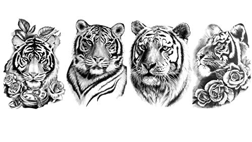 Tatouages tigres - Tatouages de bras - Tatouages animaux Siberia 4