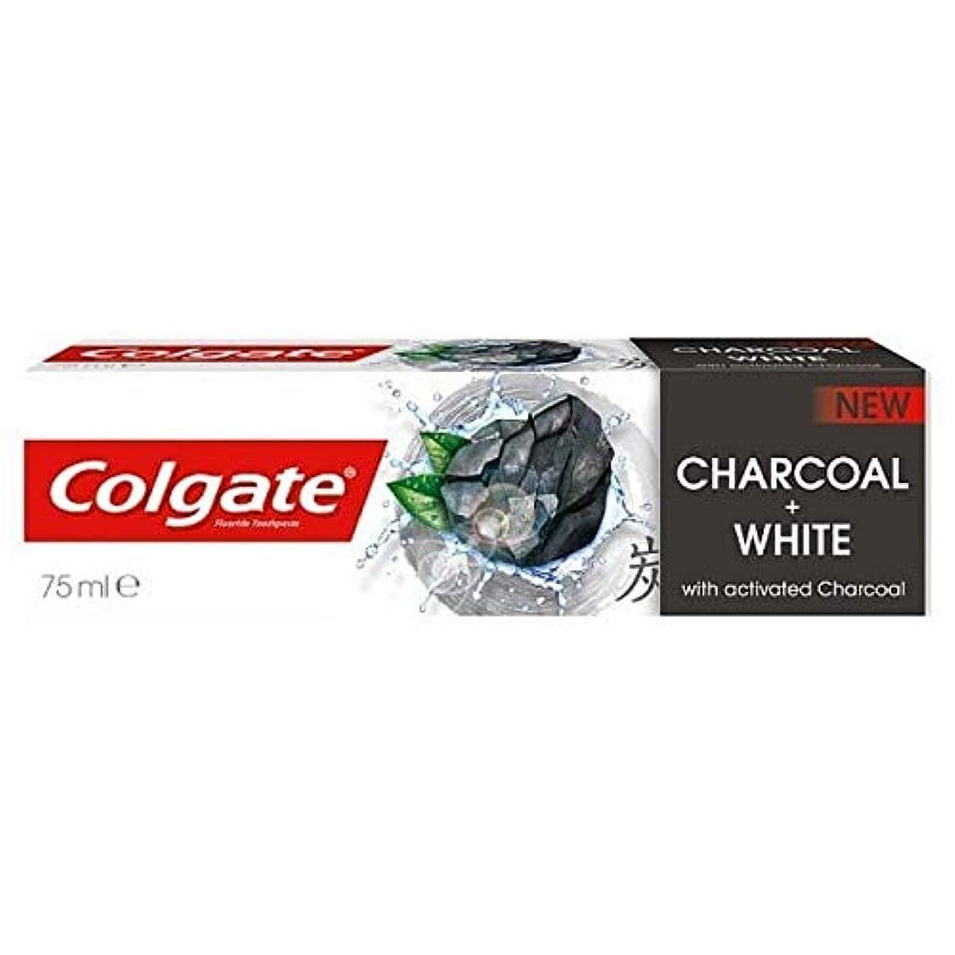 副産物汚染されたチューリップ[Colgate ] コルゲート歯磨きナチュラルチャコール75ミリリットル - Colgate Toothpaste Naturals Charcoal 75ml [並行輸入品]