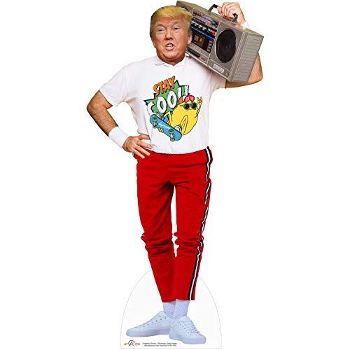 Donald Trump Boom Box Cardboard Cutout Standup Trump Party Decorations 6 - Feet Life Size Standee...