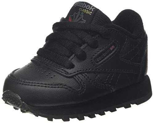 Reebok Classic Leather, Scarpe da Trail Running, Black-1, 26 EU