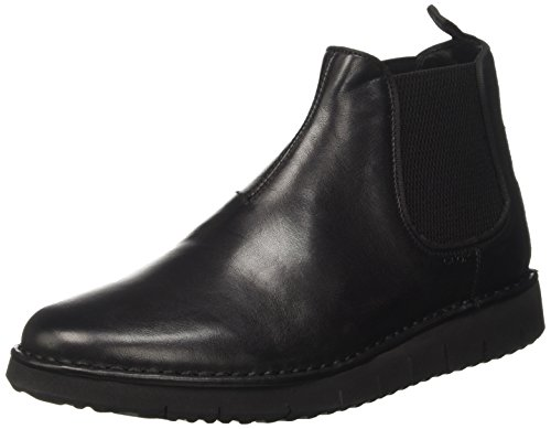 Geox Herren U PLUGES B Chelsea Boots, Schwarz (Black), 46 EU