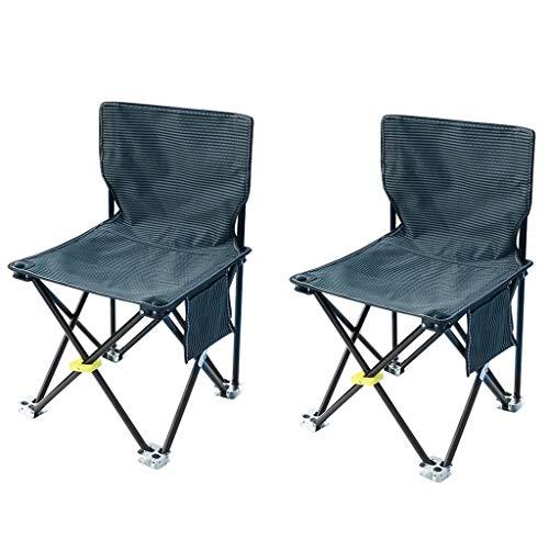 HLR Zero Zwaartekracht Stoel Camping Vouwstoelen Lichtgewicht Outdoor Vrije tijd Vissen Strandstoel Met Zak, Set Van 2 Ligstoelen Ligstoelen
