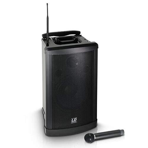 LD Systems Roadman 102 B 5 - Mobiler PA Lautsprecher mit Handmikrofon