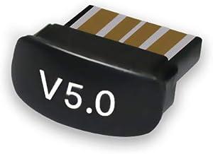 Nishore Mini adaptador BT5.0 receptor transmissor USB sem fio áudio transmissor baixo consumo de energia tamanho pequeno