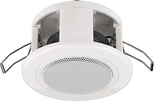 Monacor EDL-84/WS -Altavoz de techo, color blanco