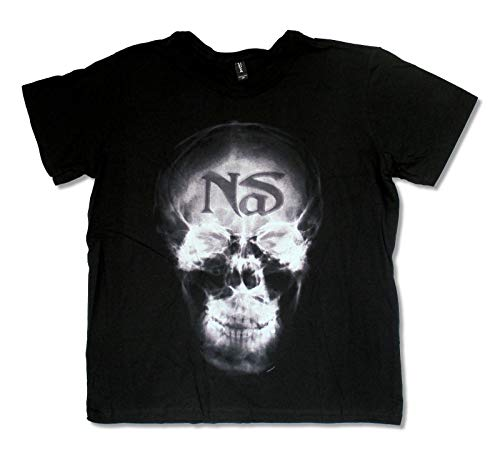 NAS X Ray Black T Shirt New Hip Hop Rap