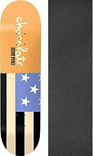 Chocolate Skateboards Stevie Perez Giant Flags Skateboard Deck - 7.87