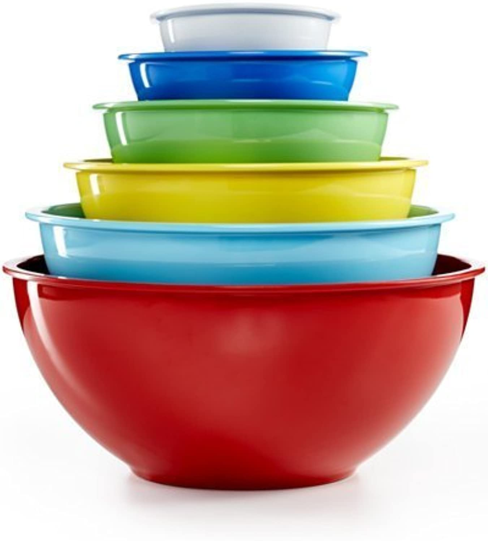 Martha Stewart Collection 6-piece Melamine Bowl Set