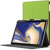 FC Cover for Samsung Galaxy Tab S4 10.5 Case Stand - S-Pen Holder - Magnetic Protective Samsung Galaxy Tab S4 10.5 Inch Tablet 2018 SM-T830/T835 Case - Smart Auto Sleep Wake - Green