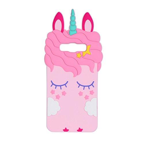 Liangxuer - Carcasa para Samsung Series, diseño de unicornio, color rosa, compatible con Samsung Galaxy ON5 Samsung Galaxy J510 Samsung Galaxy J5 Samsung Galaxy G530 Samsung Galaxy J5 2016, color rosa