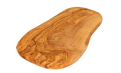 Utensilios de cocina naturales, tabla de cortar / tabla para servir de madera de olivo, madera, 30 cm
