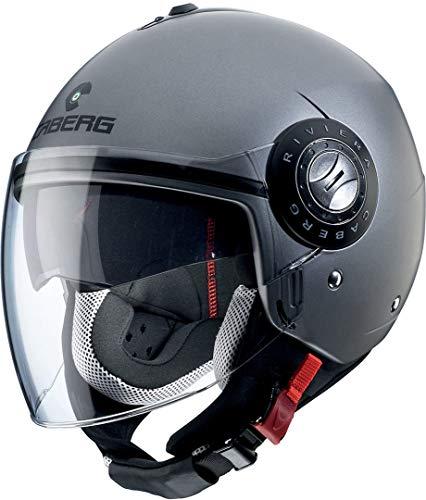 Preisvergleich Produktbild Caberg Helm,  Riviera V3,  Gunmetal,  Größe XL