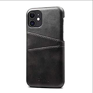 Business Apple iPhone 11 Pro phone case 5.8 inch leather back cover with card holder all-inclusive anti fall protective sl...