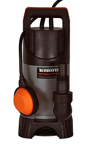Terratek Pro 400W Submersible Water Pump, Suitable for Pumping Dirty Water, Great for Swimming Pools, Flooded Cellars, Large Ponds & More