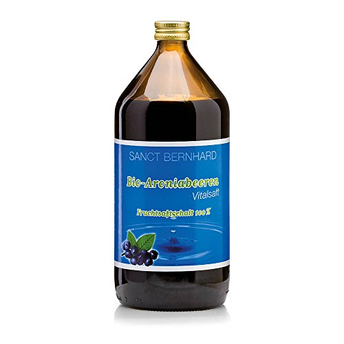 Sanct Bernhard Säfte Bio-Aroniabeeren-Saft 1 Liter