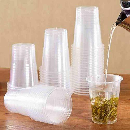 NIUPAN 50 stks / 165 ml Wegwerp Plastic Beker Huishoudelijke Theekop Koffiekopje Bier Cup |Wegwerp beker