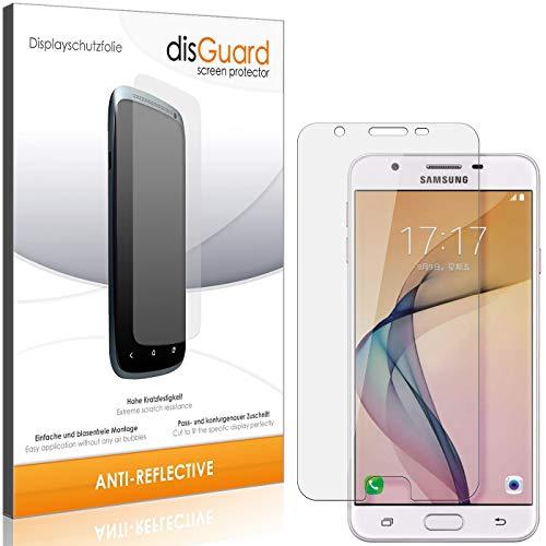 disGuard Panzerglas-Folie für Samsung Galaxy On7 (2016) [2 Stück] Bildschirm-Schutzfolie, extrem Kratzfest, Anti-Reflex, MATT, Reflektionsmindernd