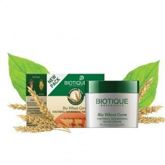 Biotique Bio Wheat Germ Youthful Nourishing Night Cream For Normal To Dry Ski... by Biotique