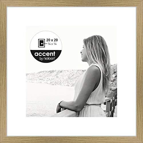 Nielsen Accent Holz Bilderrahmen Aura, 20x20 cm, Eiche