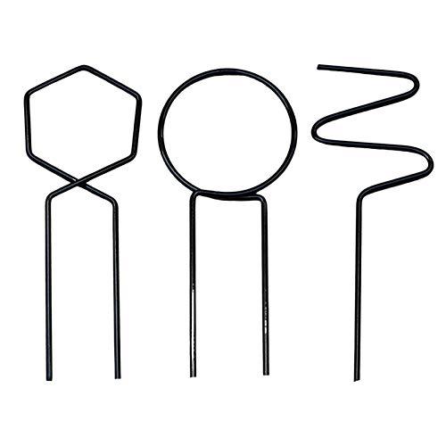 Pflanzenhalterung 3 Pack Rankhilfe Zimmerpflanzen Pflanzenstütze Rund Für Hohe Pflanzen Und Blumen Pflanzenstäbe Für Orchideen, Amaryllis, Pfingstrosen, Paprika Usw.