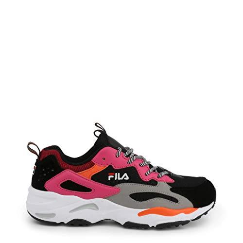FILA RAY TRACER WMN Sneakers femmes Zwart/Roze - 37 EU - Lage sneakers