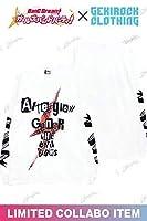 【バンドリ!×ゲキクロ 第3弾】Afterglow GoneR×美竹蘭 コラボ 限定 L/S T-Shirt Tシャツ XLサイズ 検索:アフターグロウ 青葉モカ ロンT