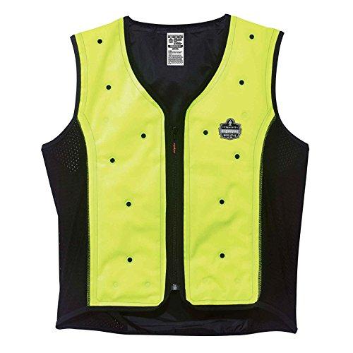 Ergodyne Chill-Its® 6685 Premium Dry Evaporative Cooling Vest, Lime, 2XL