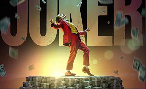 Rompecabezas 3D para Adultos 1000 Piezas - Película De Joker, Rompecabezas para Niños De 2 A 4 Años Festival Regalo De Bricolaje Juego Intelectual Regalo De Pascua 75X50Cm