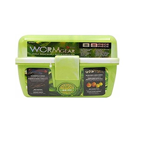 South Bend Worm Gear Tackle Box (Green)