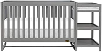 Dream On Me Milo 5-in-1 Convertible Crib & Changing Table