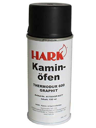 HARK Farbspray Ofenlack Graphit 150 ml (EUR 8,60/100 ml)