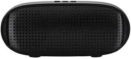 LAKD Gli Altoparlanti Portatili Senza Fili Bluetooth Sono ampiamente compatibili con i Cavi vocali Bluetooth con Un Lettore Audio Stereo di Linea. Nero Nero - Trova i prezzi più bassi