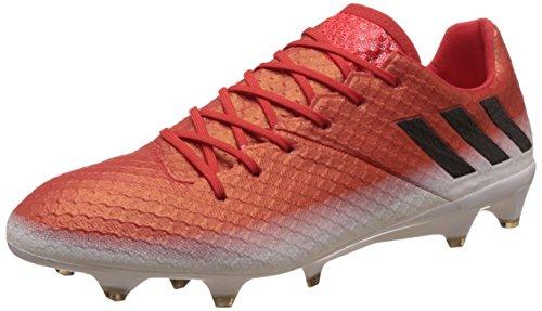 adidas Messi 16.1 FG, Scarpe per Allenamento Calcio Uomo, Rosso (Red/Core Black/Ftwr White), 39 EU