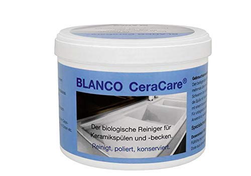 BLANCO CeraCare 519080 Reiniger für Keramikspülen / Spülenpflege / Spülen Reinigungsmittel