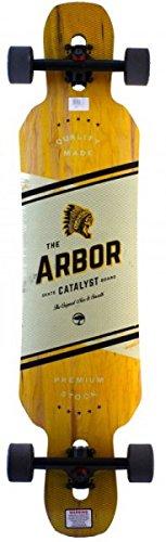 Arbor Longboard Komplettboard Catalyst 40.0 inch Cruiser Carver Dropthrough - Special Edition mit Koston Kugellagern - Drop Through Longboard