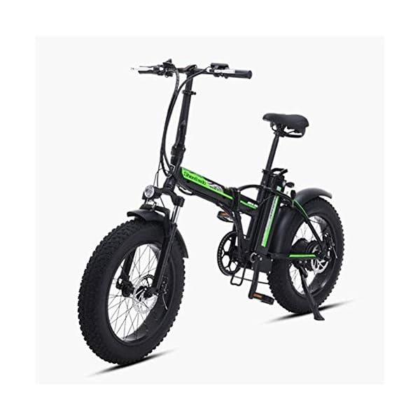 41OrnZ5+noL. SS600  - Elektrofahrrad klappbares für Erwachsene 500W Elektro-Klapprad Berg Schnee E-Bike Rennrad 15Ah 48V Lithium-Batterie 20-Zoll-Fat Tire 7 Variable Speed mit Dual-Scheibenbremsen bis zu 100 Kilometer