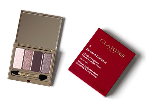 Clarins–palette 4couleurs–palette Ojos 02Rosewood