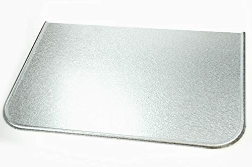 Verzinkt Bodenblech Schmutzblech Ofenblech Funkenschutz Bodenplatte 600x400 mm W156