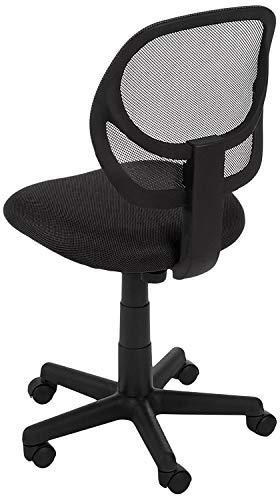 AmazonBasics Low-Back Armless Office Chair
