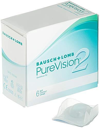 PureVision2 HD Monatslinsen weich, 6 Stück BC 8.6 mm / DIA 14 / -3 Dioptrien