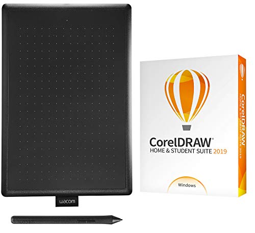 Corel CorelDraw Home & Student Suite 2019 inkl. Grafiktablett One by Wacom