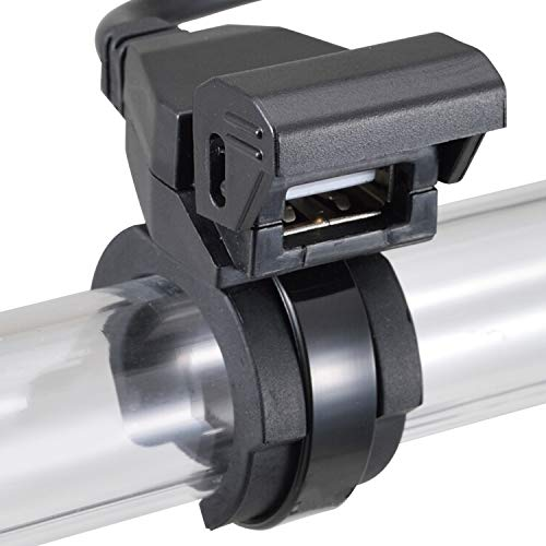 デイトナ バイク用 USB電源 5V/2.1A バッテリー接続 常時通電 USB-A 1ポート 93039