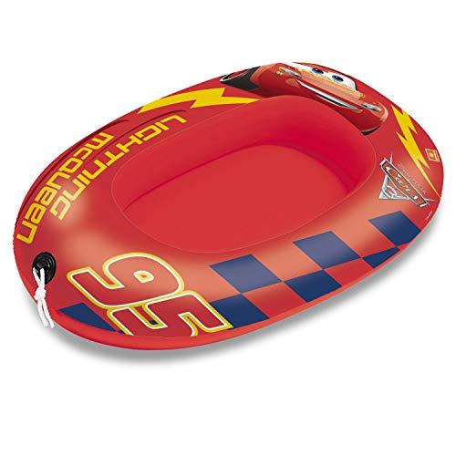 Mondo Toys - Cars 3 Small Boat - Canotto Gonfiabile / Gommone per Bambini - misura 94 cm - Facile da Gonfiare e Sgonfiare - PVC Termosaldato resistente - ideale per spiaggia, mare, piscina - 16513
