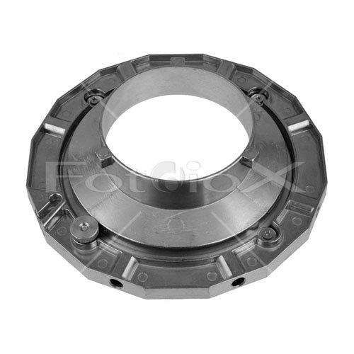 Fotodiox Speedring for Calumet Travelite 375R, 750R Strobe Light, Speed Ring - Silver