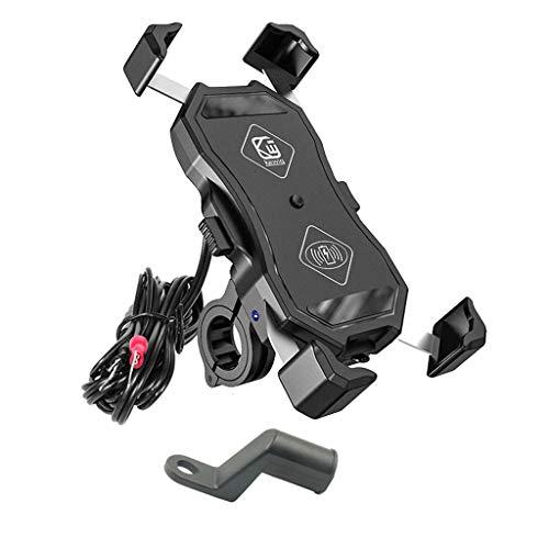 12 V Motorrad Handy Qi Schnellladehalterung Halterung Halter Halter Für Smartphone